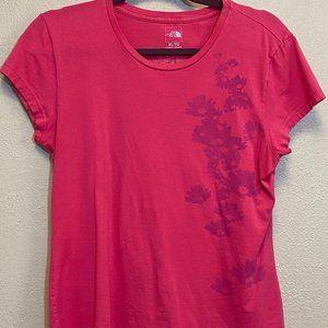 The North Face Sz XL Pink T-shirt: 2242